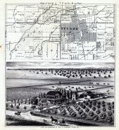 Tulare, Tulare County 1892